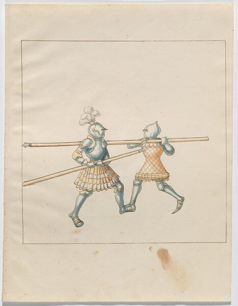 Freydal, The Book of Jousts and Tournament of Emperor Maximilian I: Combats on Foot (Jousts)(Volume III): Plate 132