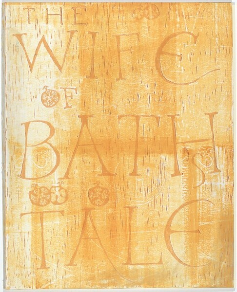 Cover for The Wife of Bath