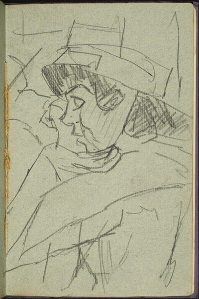 Frau mit Hut (Woman with a Hat) [p. 33]