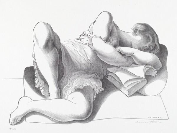 Untitled (Girl Reading)