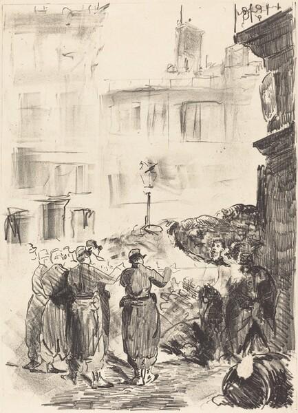 The Barricade (La barricade)