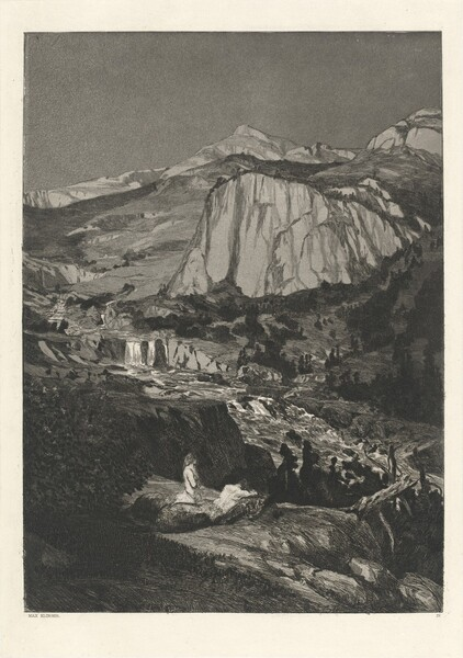 Moonlit Night (Mondnacht): pl. 4