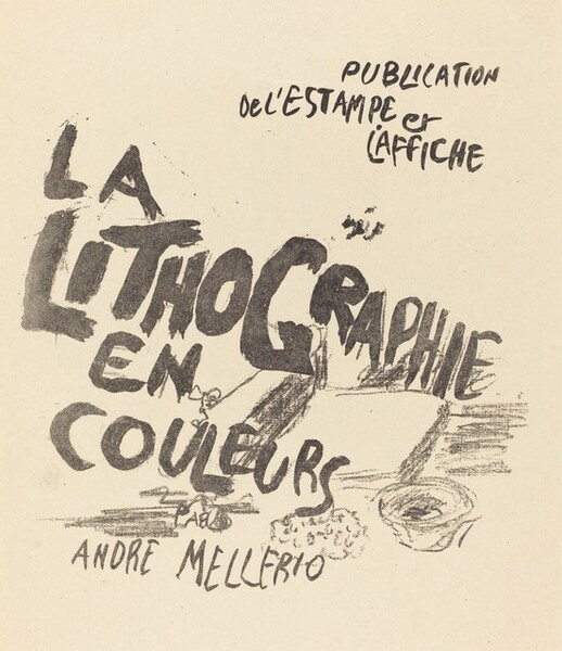 Cover for André Mellerio