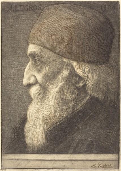 Self-Portrait, 13th plate