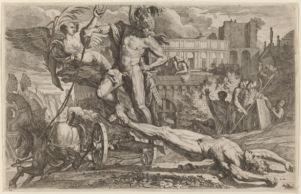 Achilles Dragging the Body of Hector