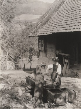 image: At the Pump, Black Forest