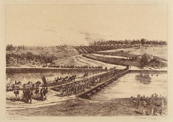 The Pontoon Bridges