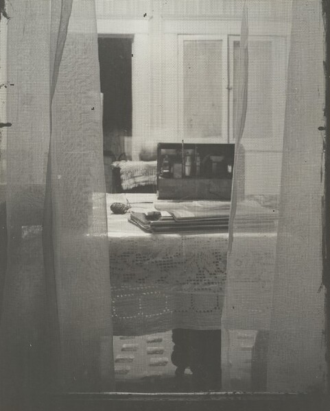 Interior through Screened Window