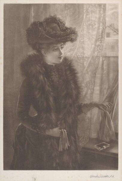 Untitled (Lady in Furs)