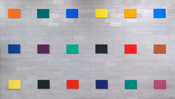 Color Panels for a Large Wall