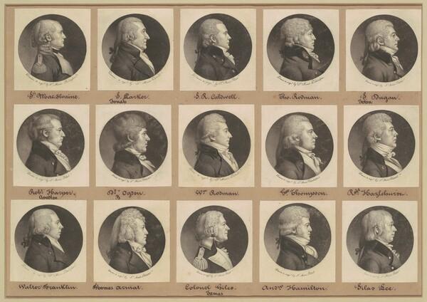 Saint-Mémin Collection of Portraits, Group 12