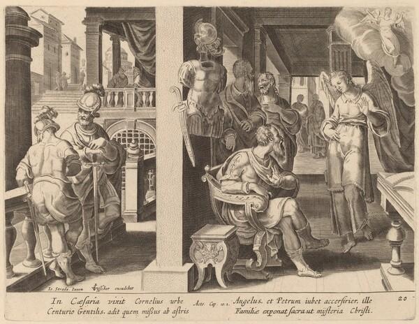 The Angel Commands Cornelius to Fetch Saint Peter
