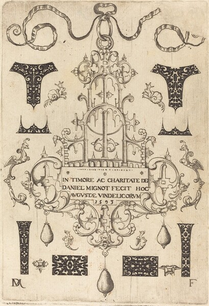Title Page: Pendant, Surrounded by Eight Small Studs