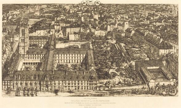Collège Henri IV, Paris, ou Lycée Napoléon (Henry IV College or Napoleon School)