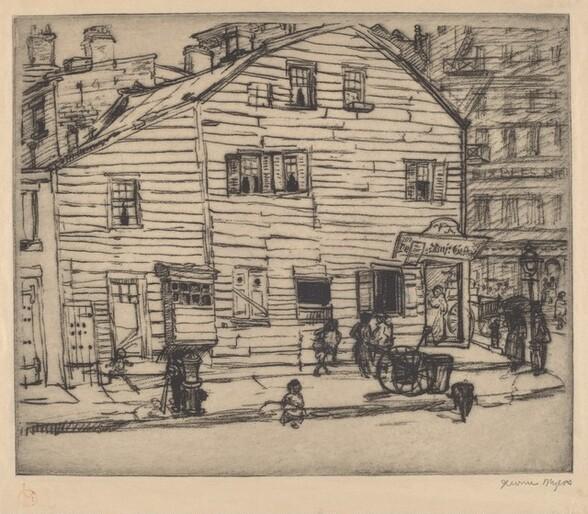 Greenwich Village, Street Scene