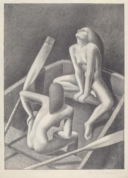 Untitled (Two Nudes in a Boat)