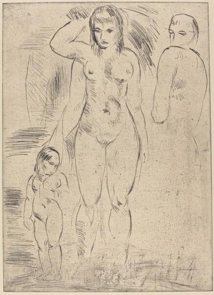 Woman and Child (Weib und Kind)