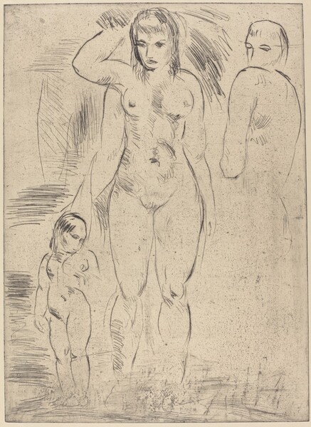 Woman and Child (Weib und Kind)