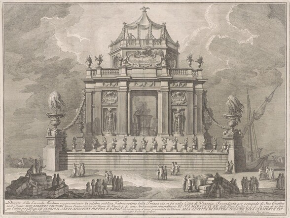 The Seconda Macchina for the Chinea of 1773: The Preparation of Theriac in Venice
