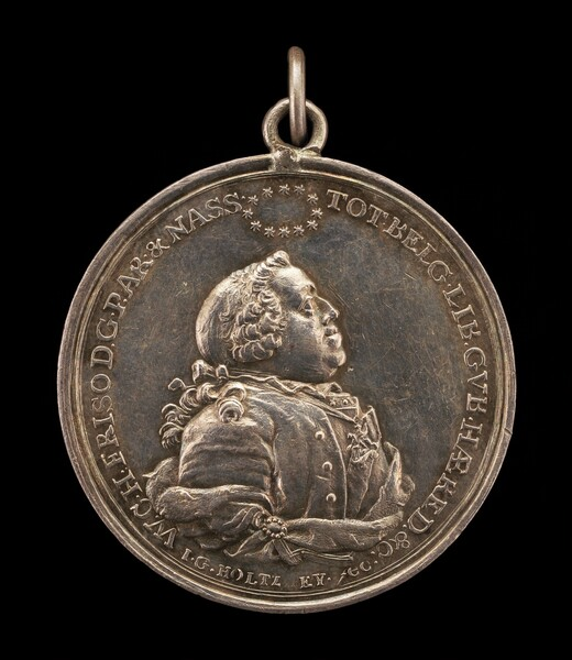 William IV Charles Henry Friso, 1711-1751, Stadholder of United Netherlands [obverse]