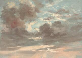 John Constable, Cloud Study: Stormy Sunset, 1821-1822