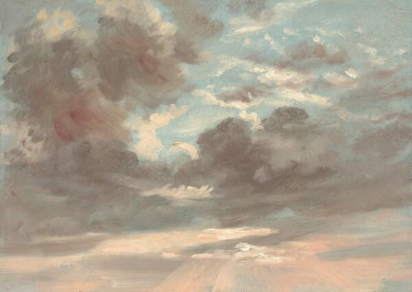 Cloud Study: Stormy Sunset