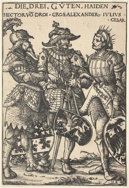 Hector, Alexander and Julius Caesar