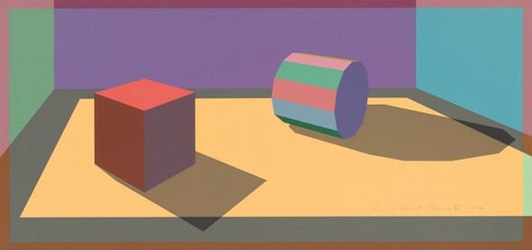 Dodecagon Cylinder and Cube
