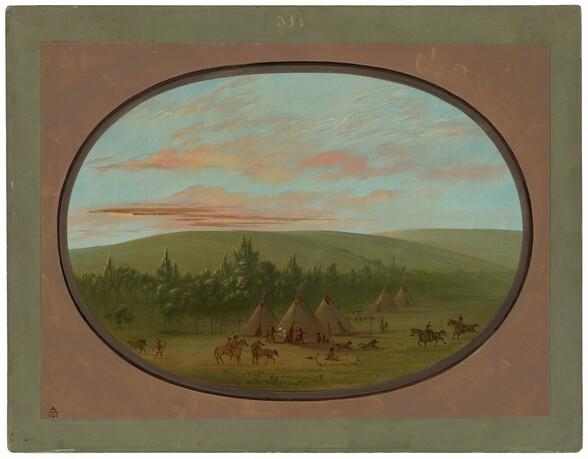 A Sioux Village