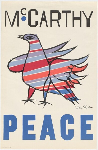 McCarthy Peace (poster)