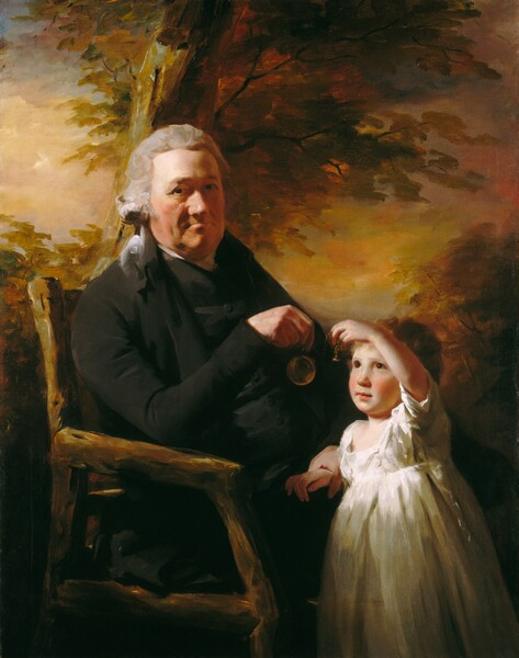 John Tait and His Grandson