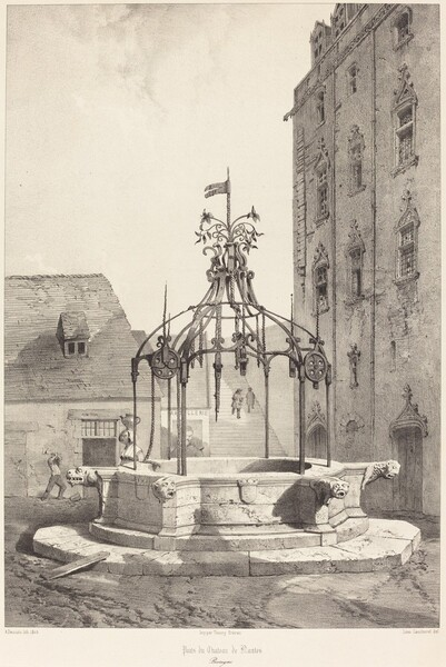 Puits du Chateau de Nantes, Bretagne