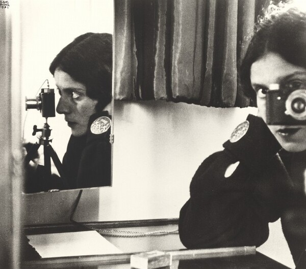 Self-Portrait with Leica
