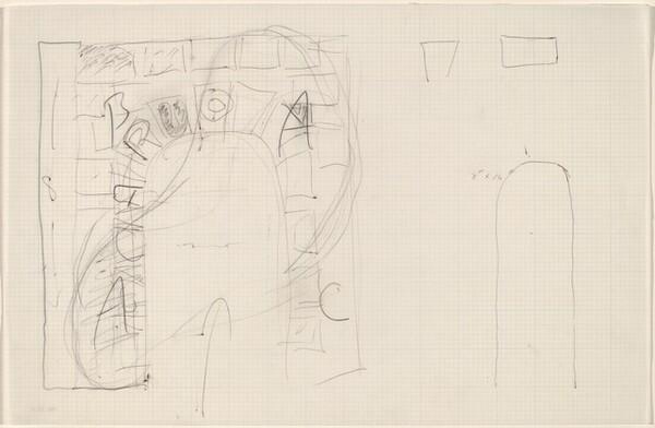 Sketch for Building - Blocks for a Doorway