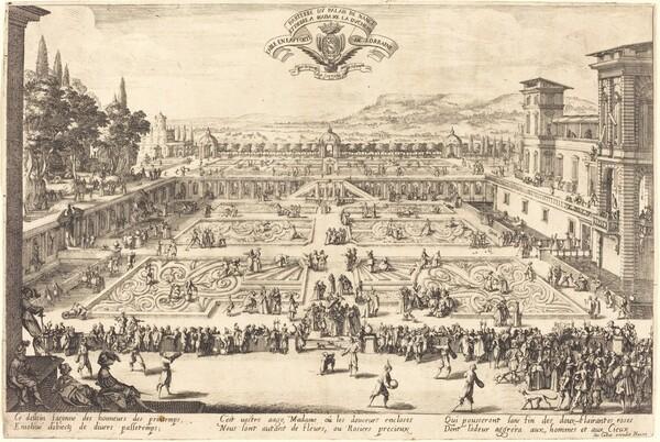 The Palace Gardens at Nancy