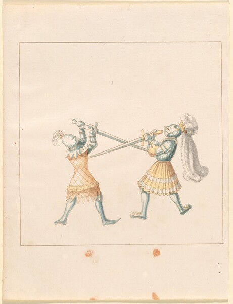 Freydal, The Book of Jousts and Tournament of Emperor Maximilian I: Combats on Foot (Jousts)(Volume III): Plate 159