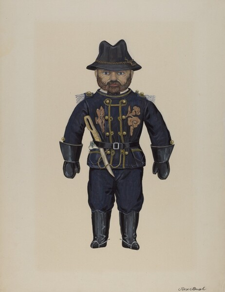 Doll--General Grant
