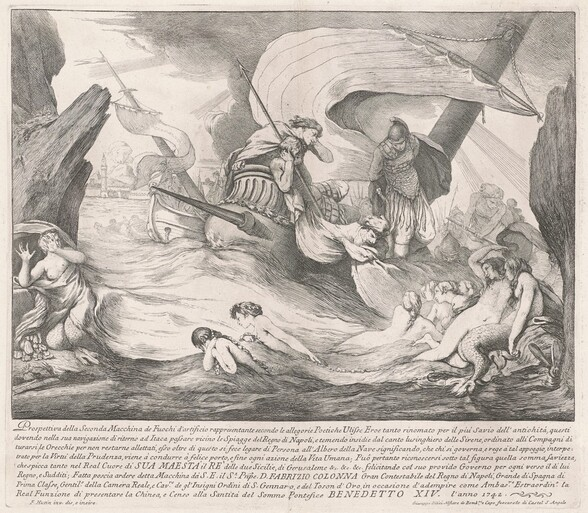 The Seconda Macchina for the Chinea of 1742: Ulysses and the Sirens