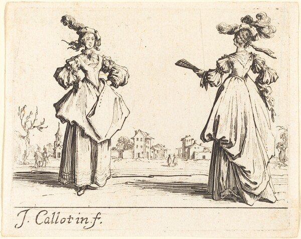 Two Society Women