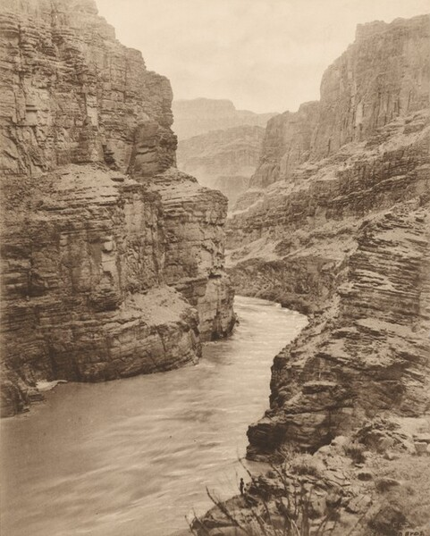 Colorado River at Junction with Cataract Canyon