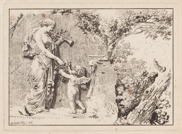 Composition with Figural Relief