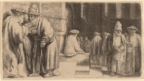 Jews in the Synagogue
