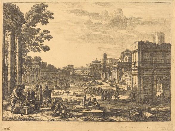 The Roman Forum (Le Campo Vaccino)