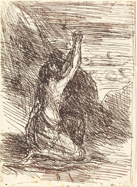 Mary Magdalene Kneeling (Madeleine a genoux)