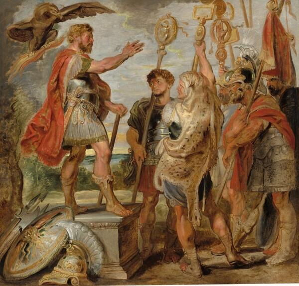 Decius Mus Addressing the Legions