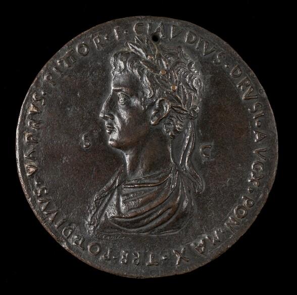 Emperor Claudius, 10 B.C.-54 A.D., Emperor 41-54 [obverse]