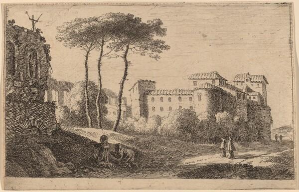 View of the Church Quattro Santi Coronati