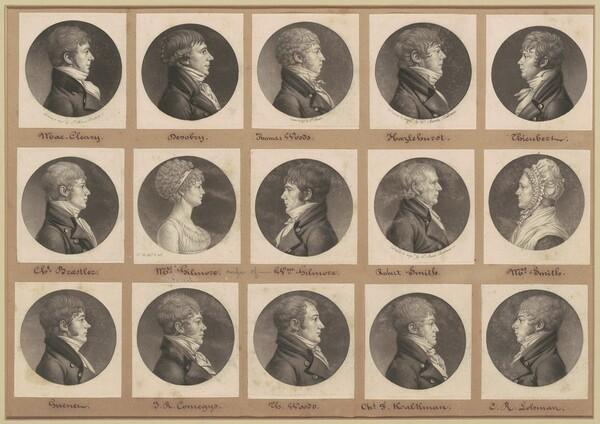 Saint-Mémin Collection of Portraits, Group 25