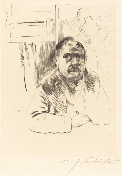 Selbstbildnis im Pelz (Self-Portrait in a Fur Coat)