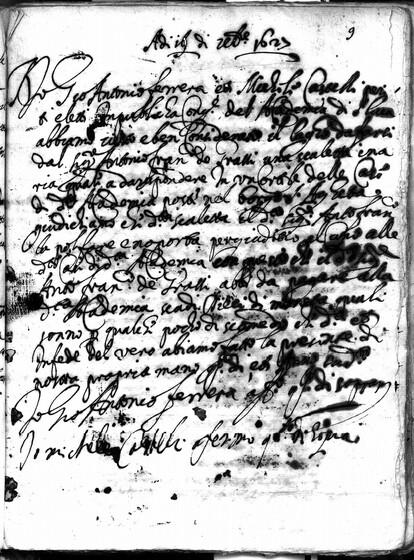 ASR, TNC, uff. 15, 1627, pt. 4, vol. 114, fol. 9r